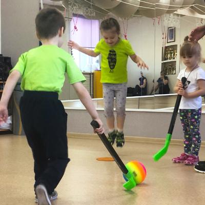 Детский фитнес 4-6 лет